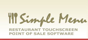 Simple Menu - Restaurant Touchscreen Point of Sale Software